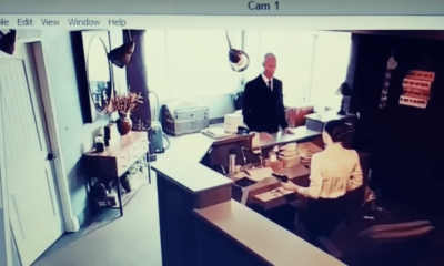 Men in black encounter caught on tape : secret government agents or aliens in disguise 93