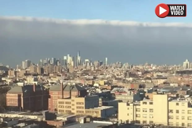 Weather Control – Mysterious cloud formation emerges over New York City 88