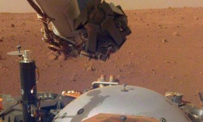 NASA's InSight lander records the Martian wind 95