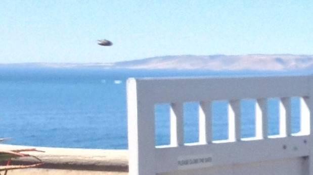 Traveler Photographs UFO on Kangaroo Island 26