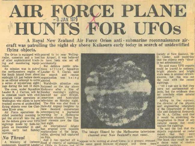 How the 40-year-old mystery of a UFO in New Zealand lives on 127