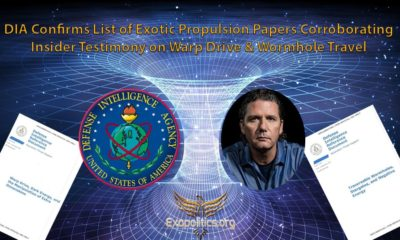 DIA Confirms List of Exotic Propulsion Papers Corroborating Insider Testimony on Warp Drive & Wormhole Travel 89