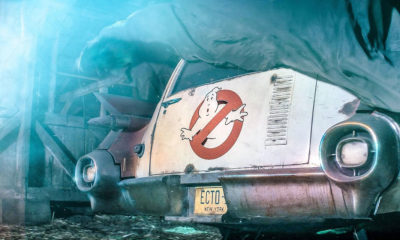 Ecto-1 Returns in Teaser for Secret Ghostbusters Movie 89