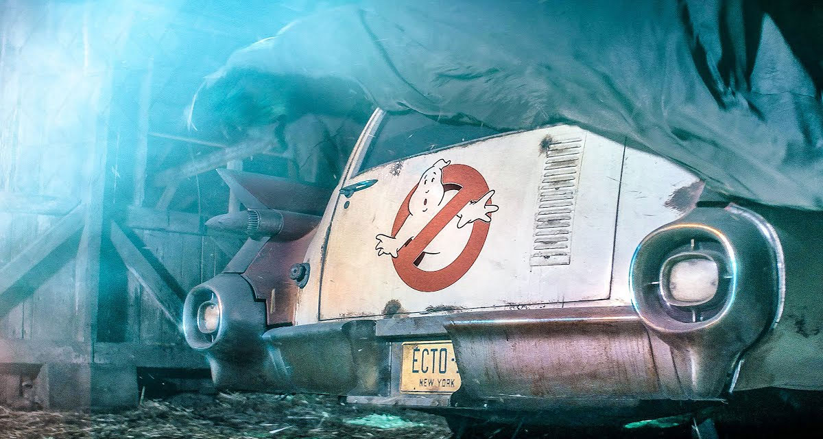 Ecto-1 Returns in Teaser for Secret Ghostbusters Movie 10