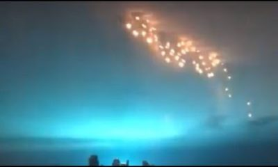 Mystery of the Blue Light in New York continues !! Another video with strange lights becomes viral 91