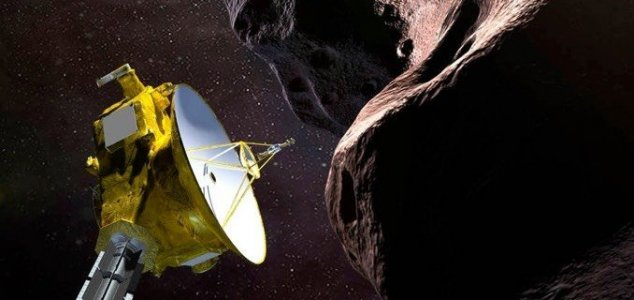 New Horizons 'phones home' after historic flyby 1