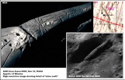 UFO On The Moon That Can't Be Explained 21