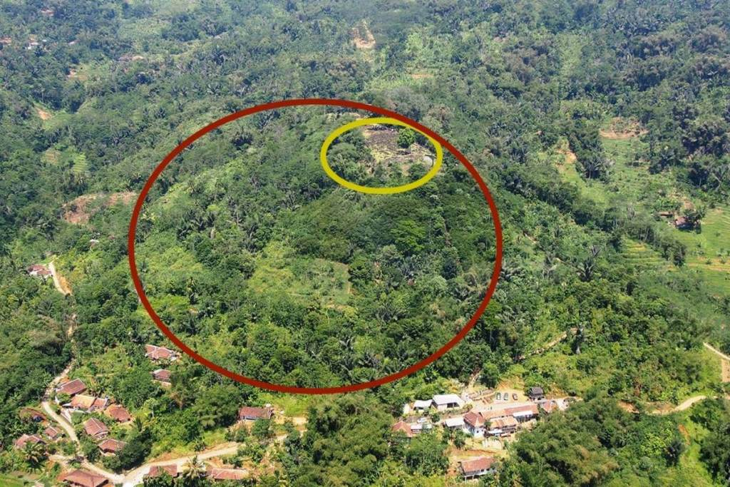 They discovered a great pyramid of 28,000 years in Indonesia 91