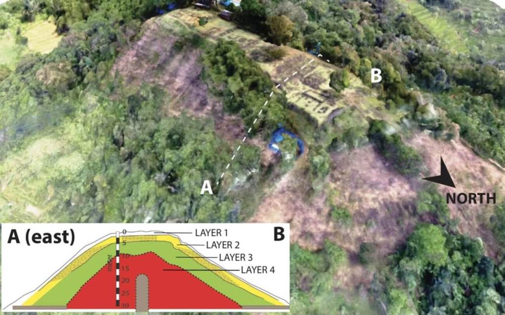 They discovered a great pyramid of 28,000 years in Indonesia 92