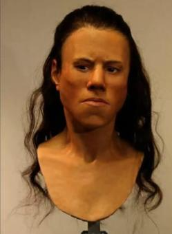 Scientists Have Reconstructed The Face Of A 9,000-Year-Old Teenager 93