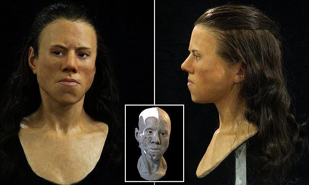 Scientists Have Reconstructed The Face Of A 9,000-Year-Old Teenager 94
