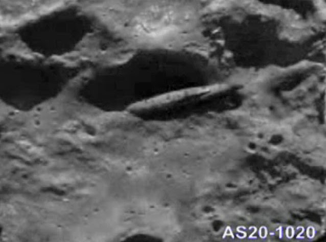 UFO On The Moon That Can't Be Explained 24