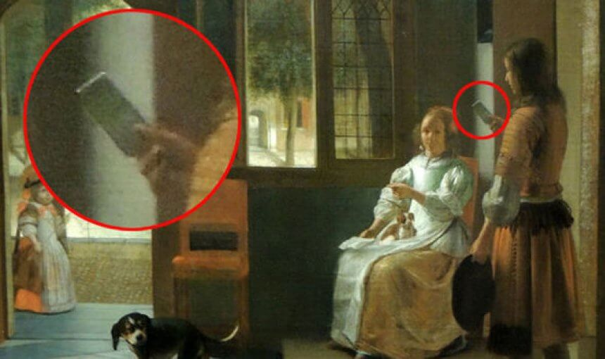 Proof of time travel? Apple boss says iPhone in 350-year-old painting is EVIDENCE 8