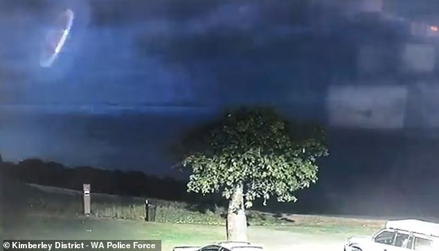 'We may not be alone': Police release eerie footage of a UFO-like object hovering in the sky 8