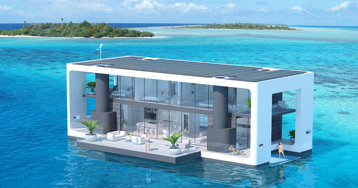 Ride out Climate Change in This $5.5 Million Self-Sustaining Yacht 1