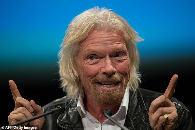 Richard Branson to fly into space in JULY aboard his Virgin Galactic spaceship. 25