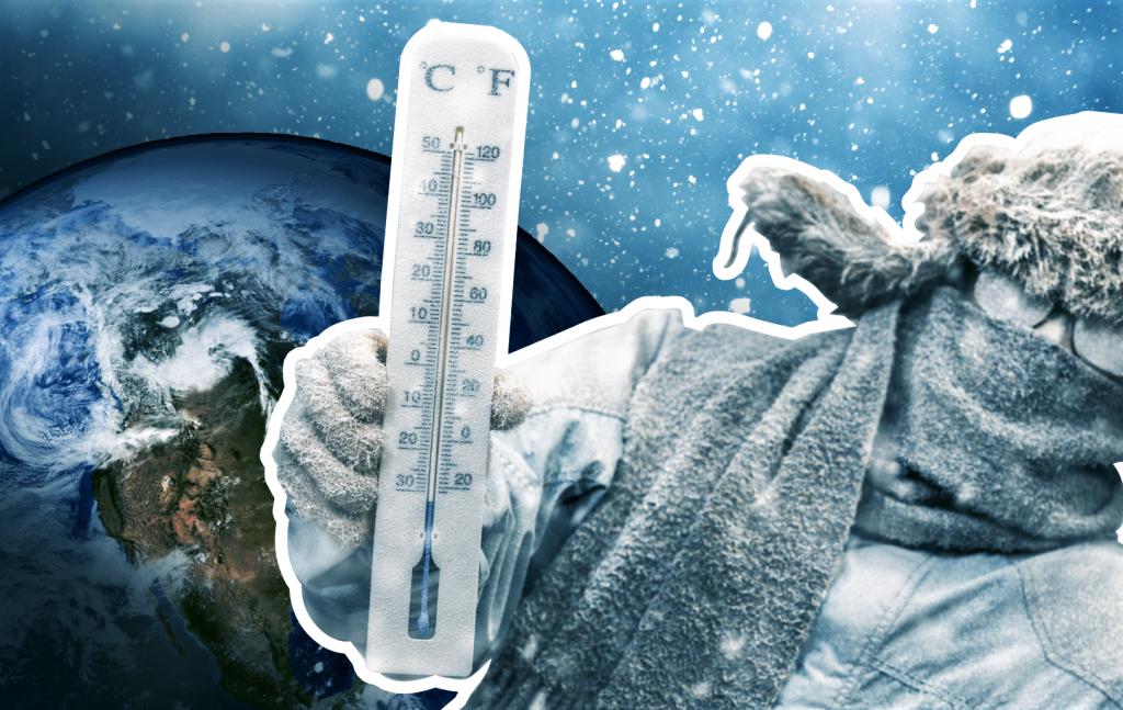 New Ice age : polar vortex will cause temperatures of 50º below zero in the US 1