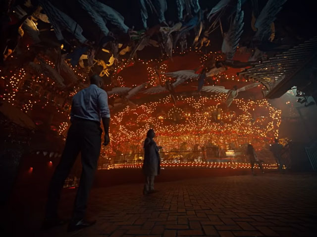 Mr. Shadow, Wednesday, and the other Old Gods come to the House on the Rock in American Gods season 2