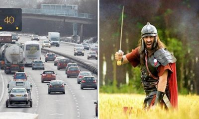 British psychic says motorway fatalities 'due to ghosts of Roman soldiers' 89