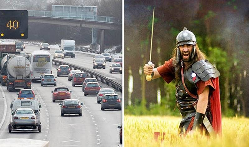 British psychic says motorway fatalities 'due to ghosts of Roman soldiers' 32
