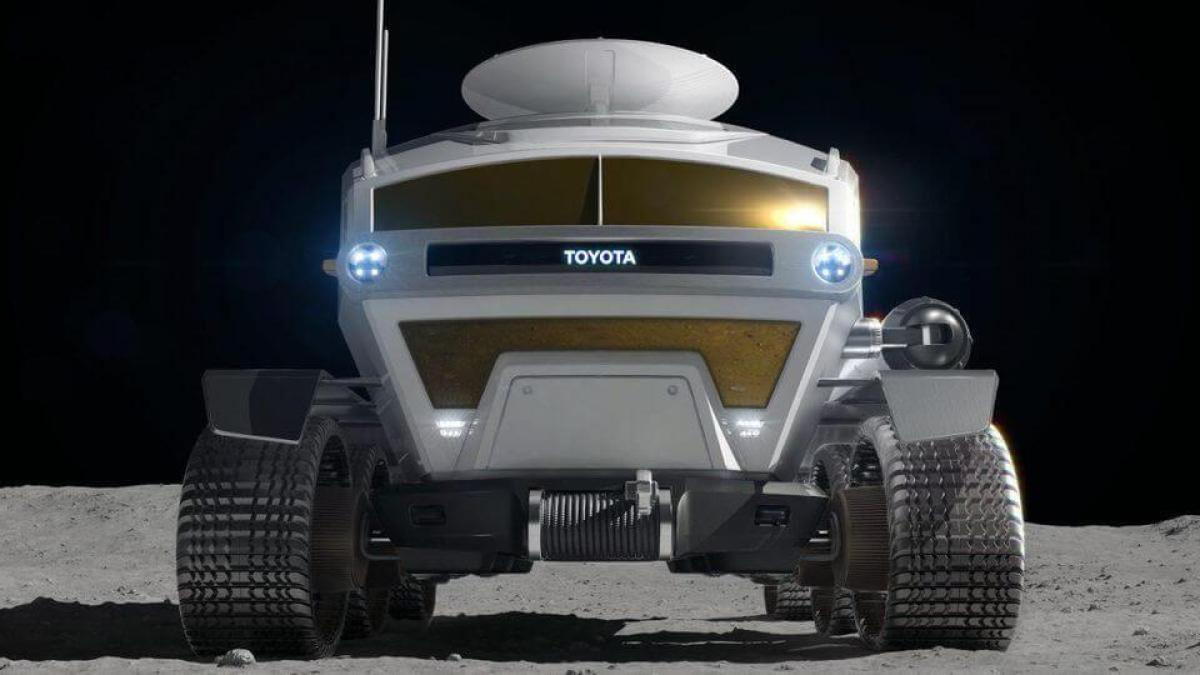 Toyota Reveals 'Self-Driving Electric Moon Car' As Japan Prepares To Land Astronauts On The Moon 8