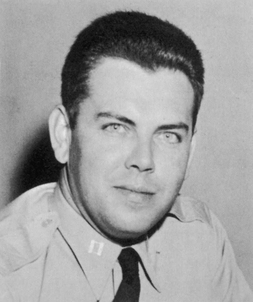 Edward Ruppelt oversaw Project Blue Book for the U.S. Air Force, a program that monitored and investigated UFO reports.