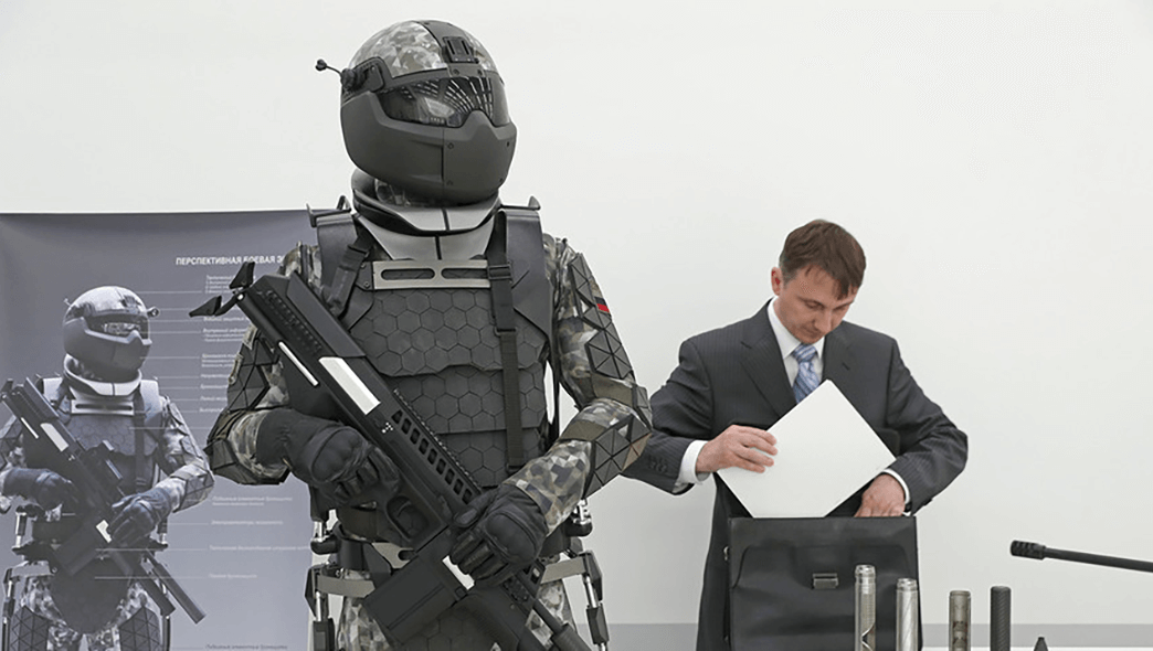 Russia's Next-Gen Combat Suit is Getting Tech That's Resistant to Nuclear Blasts 88