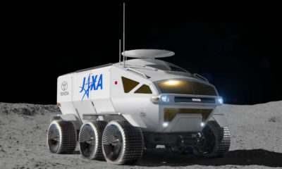Toyota Reveals 'Self-Driving Electric Moon Car' As Japan Prepares To Land Astronauts On The Moon 90