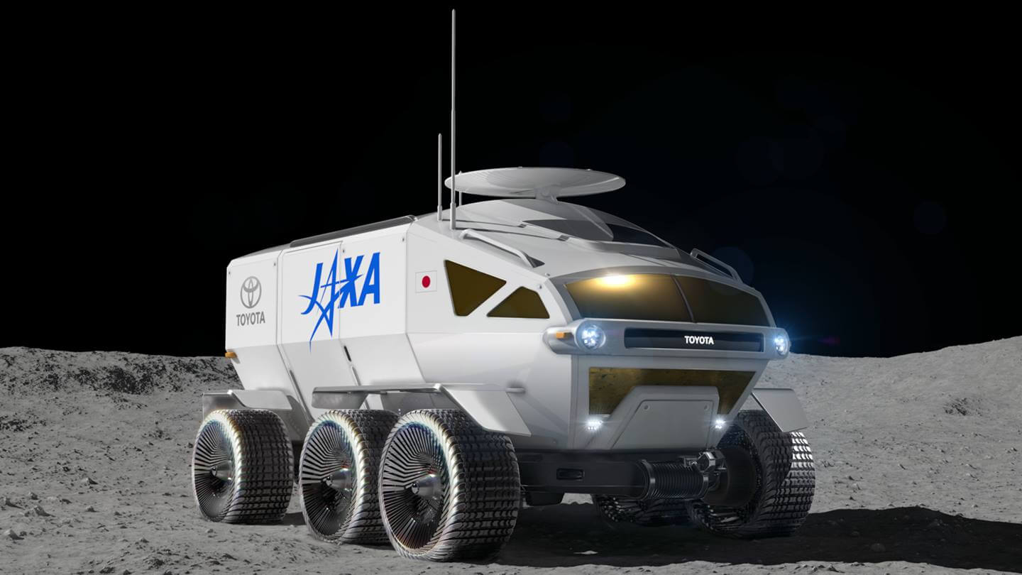 Toyota Reveals 'Self-Driving Electric Moon Car' As Japan Prepares To Land Astronauts On The Moon 11