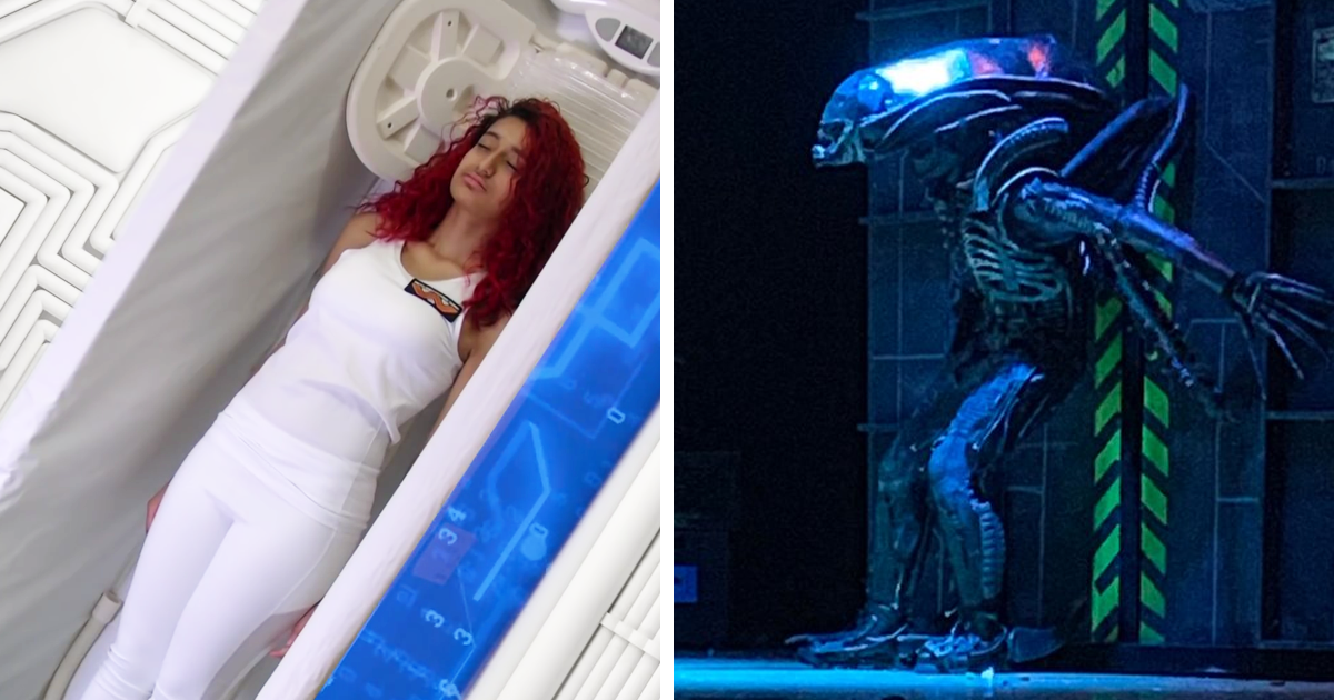 This Amazing School Play Of 'Alien' Had No Budget And Used Trash To Make Costumes 1