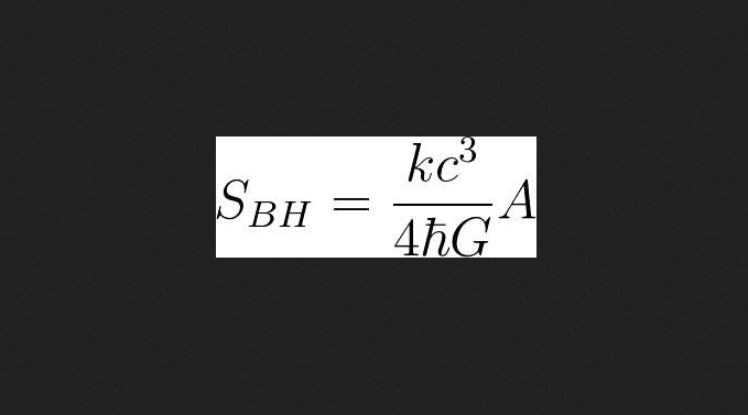 Stephen Hawking Requested This Equation to the Universe On His Tombstone 93