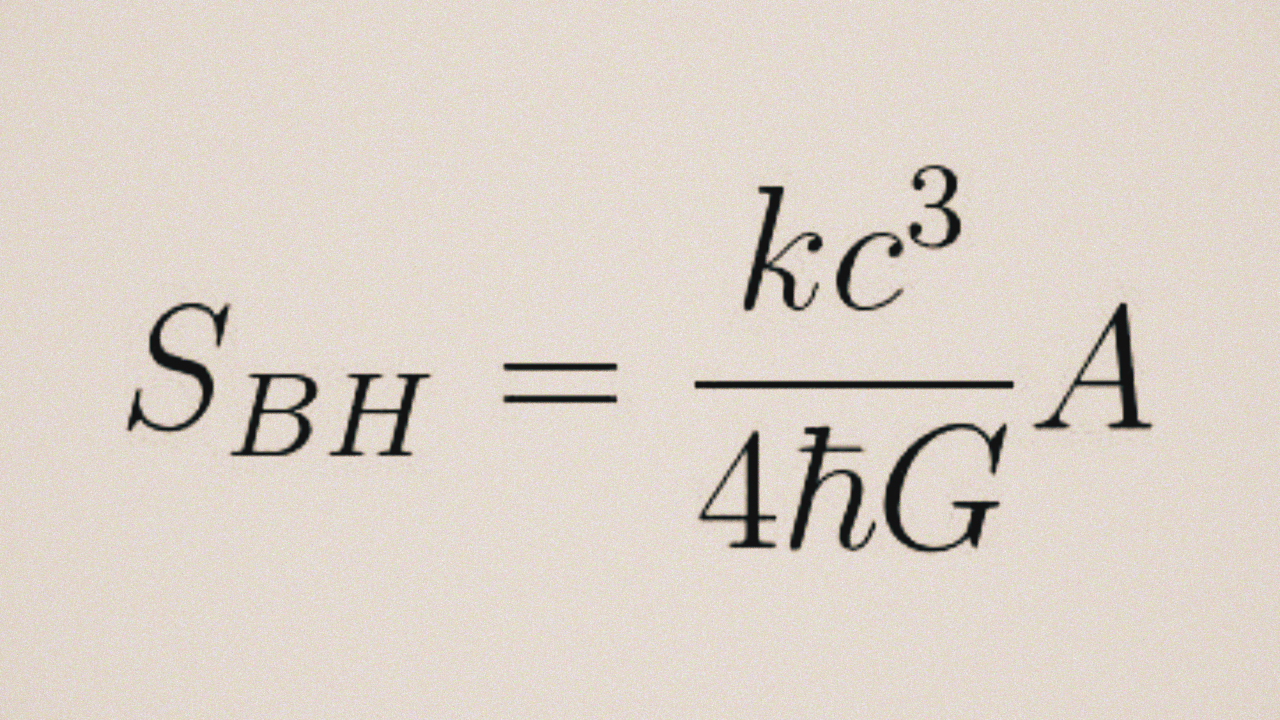 Stephen Hawking Requested This Equation to the Universe On His Tombstone 69