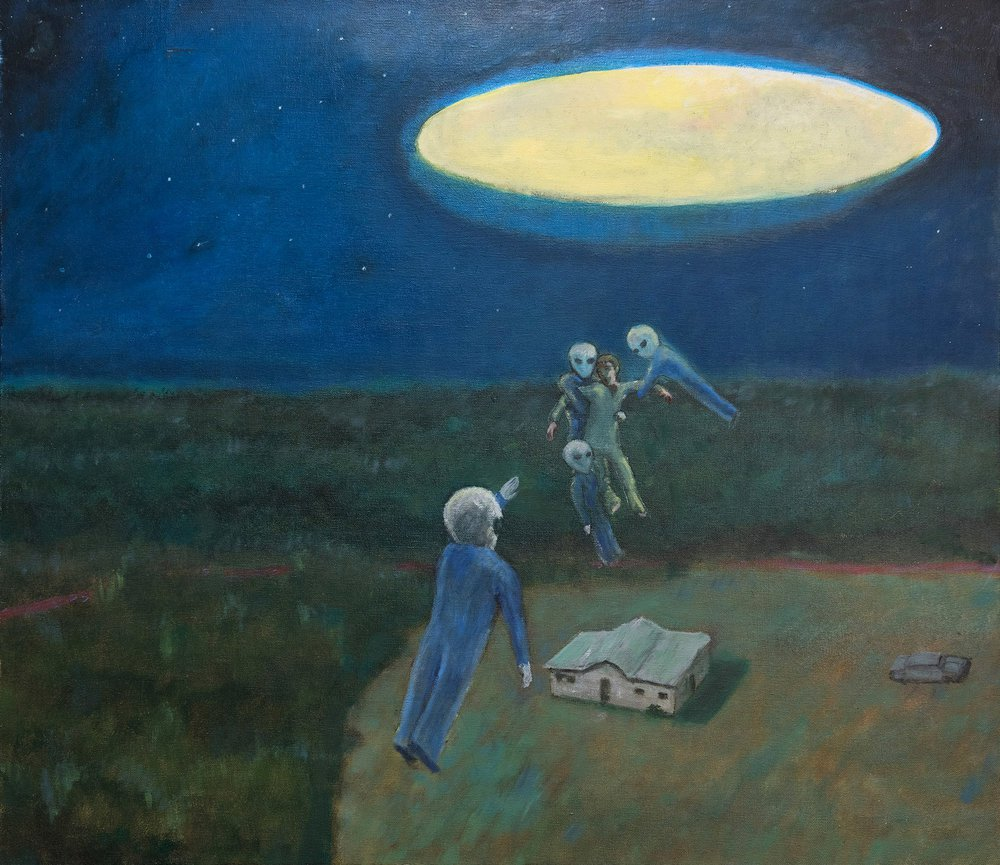 74 Year Old Describes & Paints His Encounters With Extraterrestirals Since Childhood 96