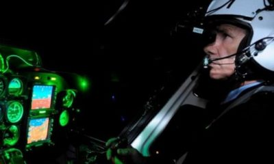 Pilot spots UFO hovering at 7,000ft over Las Vegas using night vision goggles 96