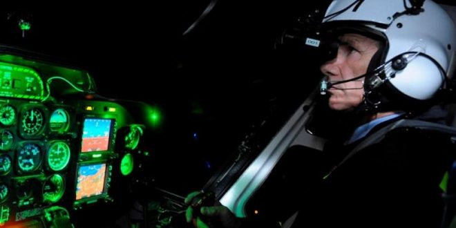 Pilot spots UFO hovering at 7,000ft over Las Vegas using night vision goggles 1