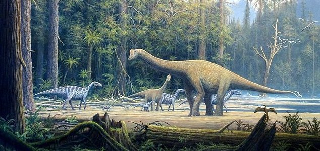 Dinosaurs were thriving before asteroid strike 1