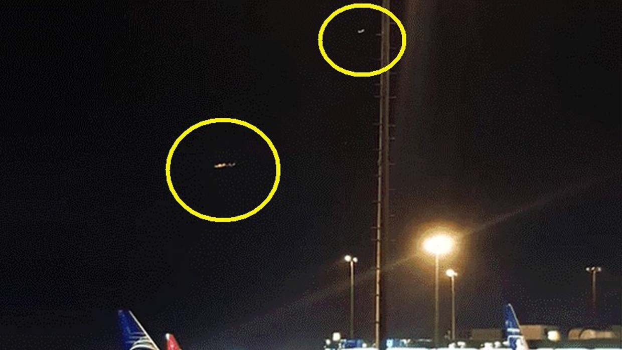 Peruvian authorities confirm the presence of two UFOs at the Jorge Chávez International Airport 86