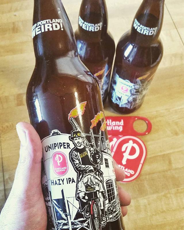 Portland Unipiper beer