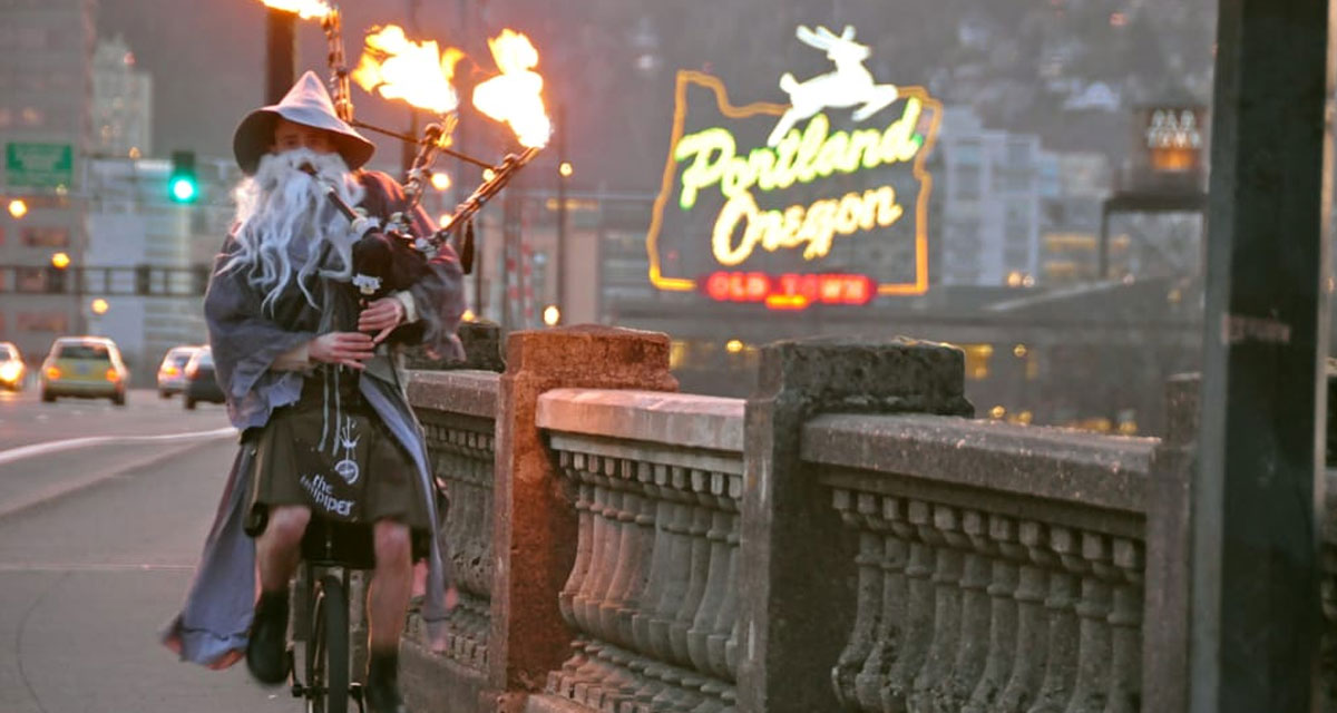 Unipiper Teams up with Portland Brewing to Support Local Weird 1