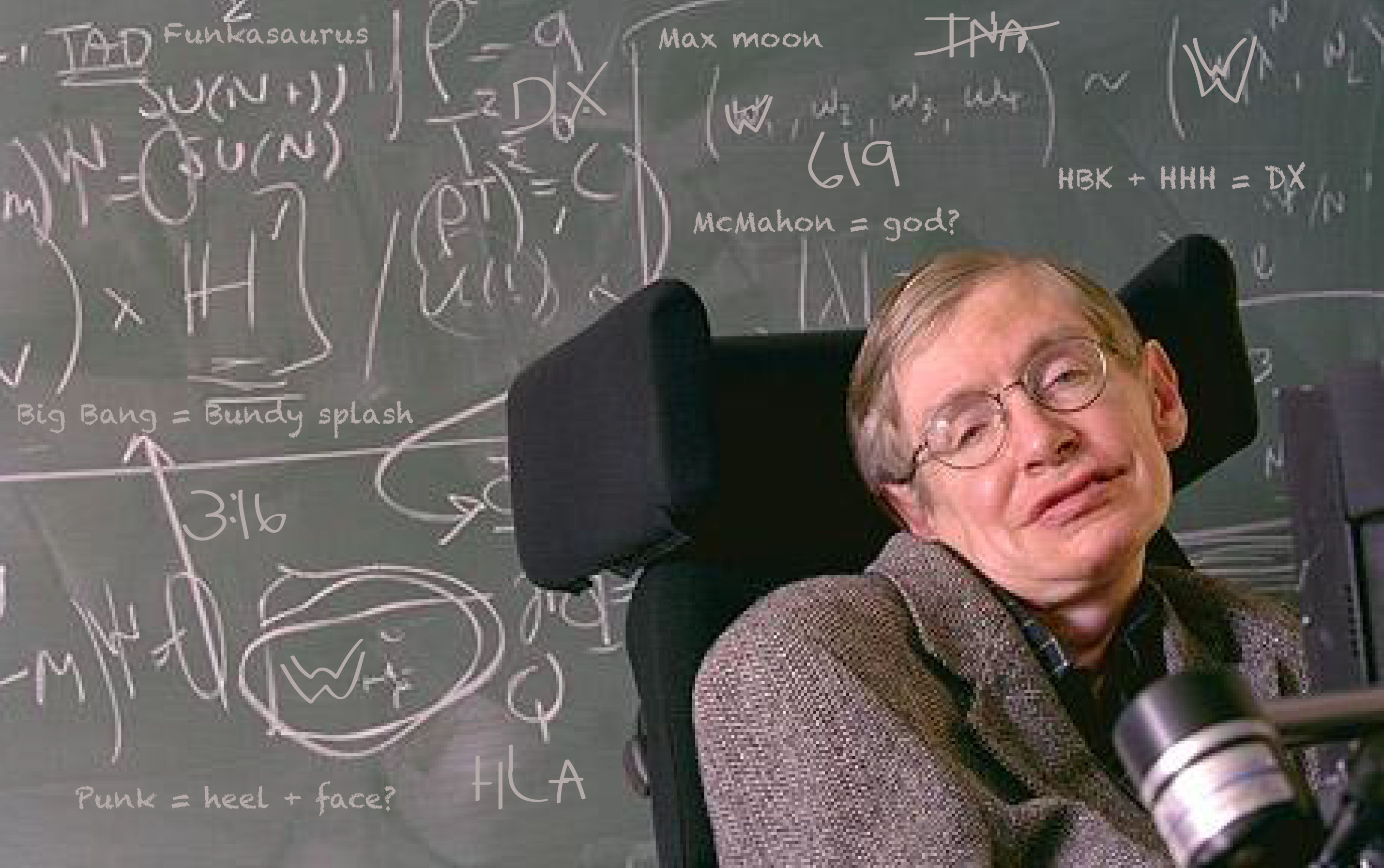 Stephen Hawking Requested This Equation to the Universe On His Tombstone 94