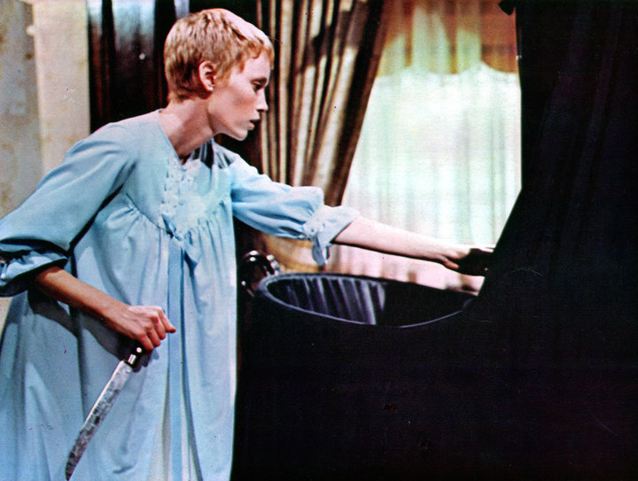"Mia Farrow in ""Rosemary's Baby,"" released in 1968."