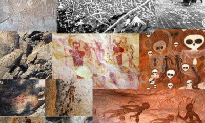 Mysterious Art depicting Ancient Aliens and Intelligent Ancestors 106