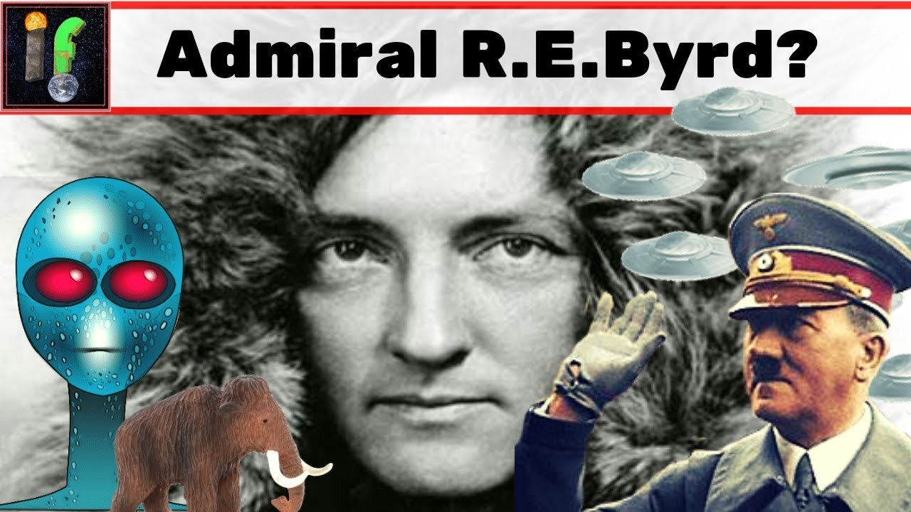 Admiral Richard E Byrd. The man who found the entrance to hollow earth? 21