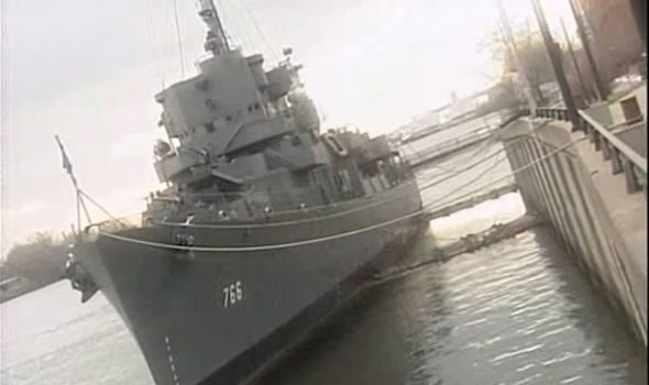 Experiment Resulted in US Navy Sailors Fusing to USS Eldridge Warship During Stealth Trials 86