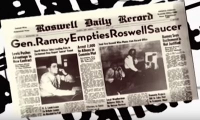 Witness of Roswell UFO Crash Shows Off Alien Hyroglifics  97