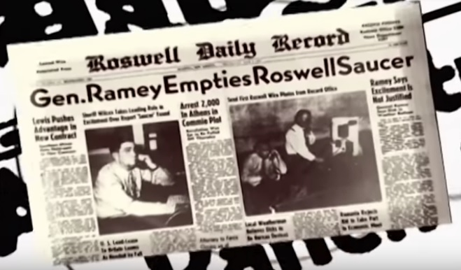 Witness of Roswell UFO Crash Shows Off Alien Hyroglifics  28