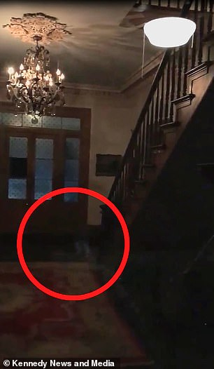Ghost of children wearing white socks were spotted at the Myrtles Plantation in Louisiana 89