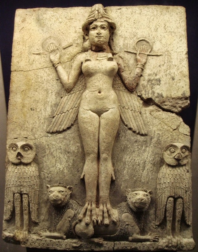 inanna-sumerian-god-annunaki-ishtar-owl