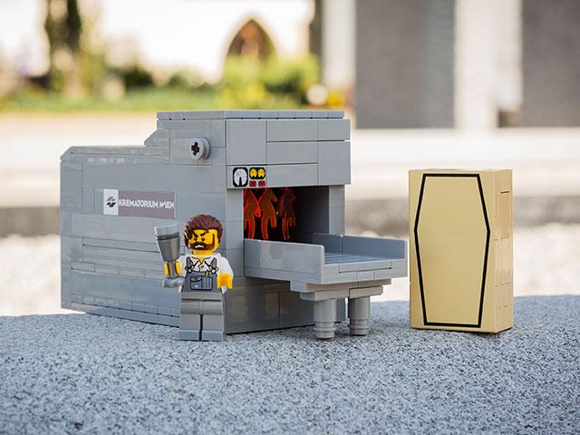 Lego crematorium