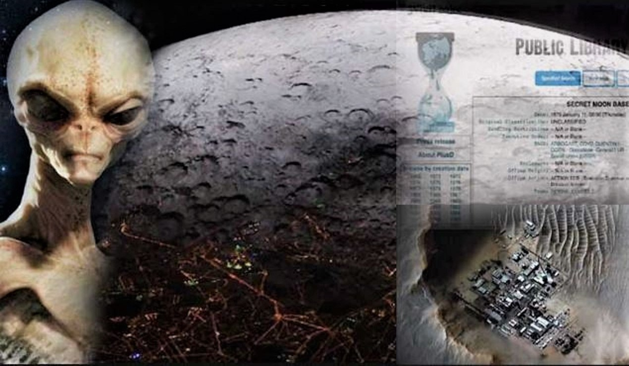 WikiLeaks confirms that the US destroyed an extraterrestrial moon base 7